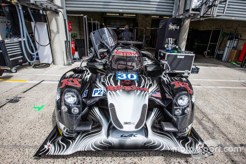 #30 Extreme Speed Motorsports, Ligier JS P2