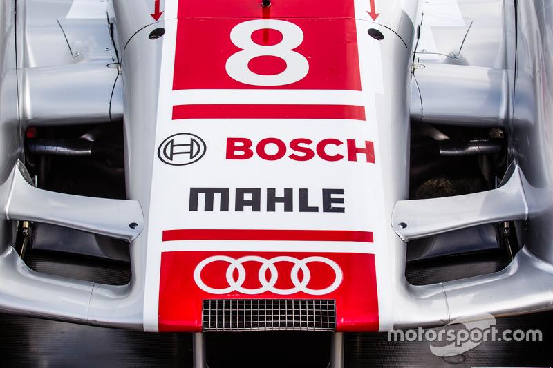 #8 Audi Sport Team Joest, Audi R18 e-tron, Aerodynamik-Detail