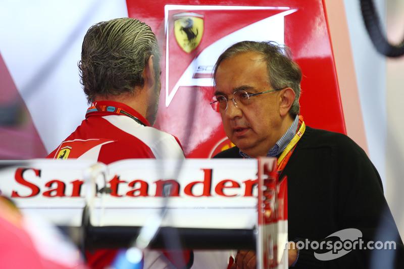 Мауріціо Аррівабене, Керівник Scuderia Ferrari з Серджіо Маркіонне, Президент Ferrari та Генеральний директор Fiat Chrysler Automobiles