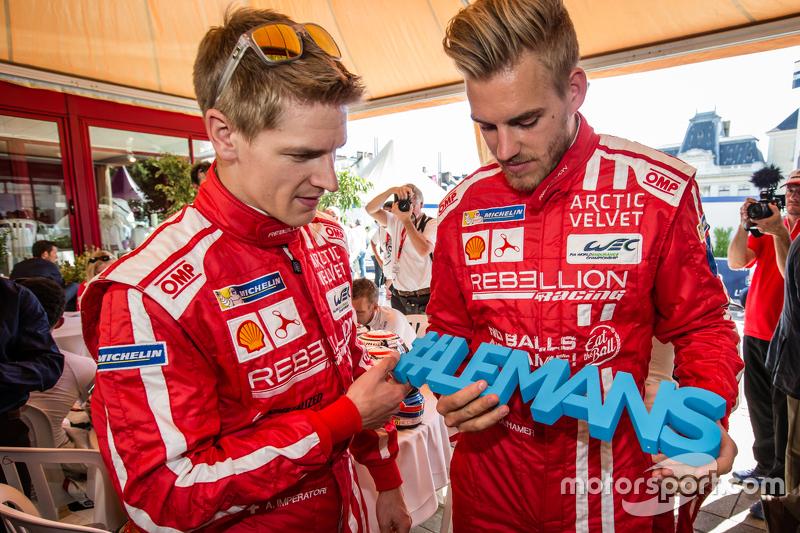 Rebellion Racing: Alexandre Imperatori and Dominik Kraihamer