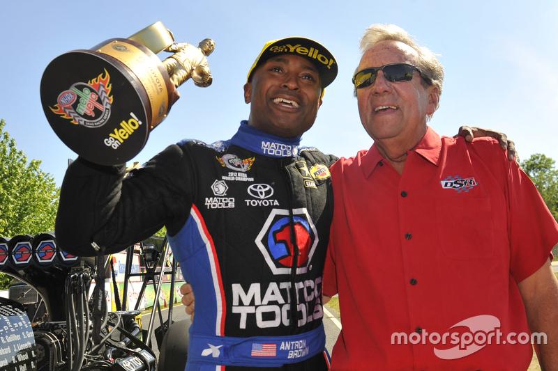 Juara Top Fuel, Antron Brown