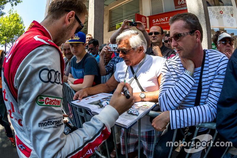 #9 Audi Sport Team Joest, Audi R18 e-tron quattro: René Rast