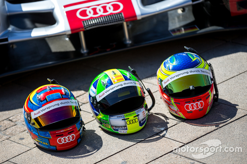 #8 Audi Sport Team Joest, Audi R18 e-tron quattro: Lucas di Grassi, Loic Duval, Oliver Jarvis, Helme