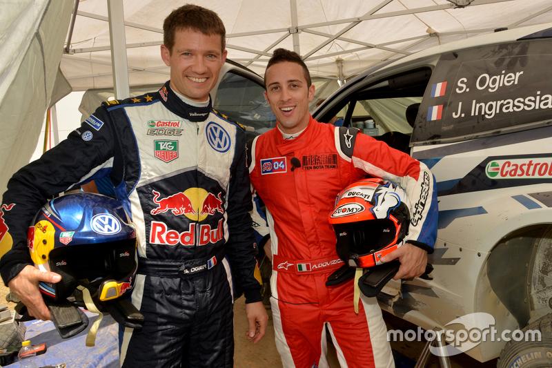 Sébastien Ogier und Andrea Dovizioso