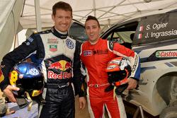 Sébastien Ogier y Andrea Dovizioso