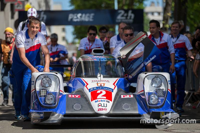 #2 Toyota Racing, Toyota TS040 Hybrid