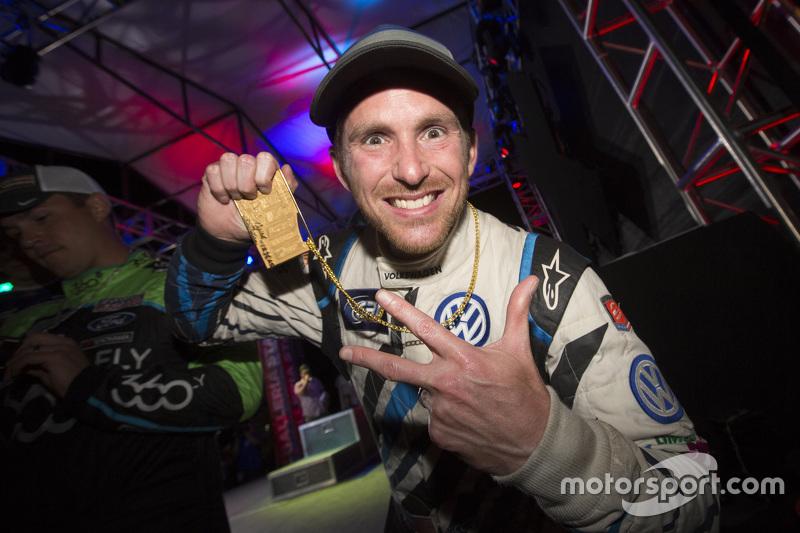 Il vincitore Scott Speed, Andretti Autosport Volkswagen