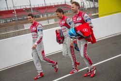 Audi Sport Team Joest: Loic Duval, Oliver Jarvis, René Rast