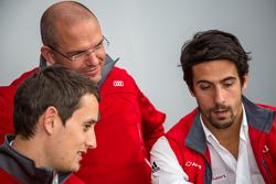 Audi Sport Team Joest: Lucas di Grassi dan Oliver Jarvis dengan Chris Reinke