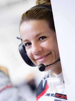 A charming Porsche Team member