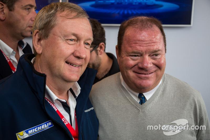 Паскаль Куаснон, Director of MICHELIN Motorsport з Chip Ganassi