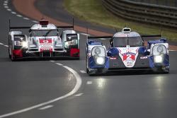 #9 Audi Sport Team Joest Audi R18 e-tron quattro: René Rast, Filipe Albuquerque, Marco Bonanomi sigu