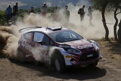Abdulaziz Al-Kuwari dan Marshall Clare, Ford Fiesta RRC
