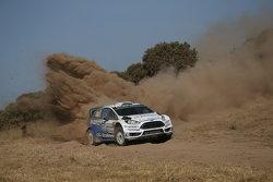 Отт Тянак и Райго Мыльдер, M-Sport Ford Fiesta WRC