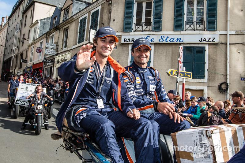 #98 Aston Martin Racing, Aston Martin Vantage GTE: Mathias Lauda und Pedro Lamy
