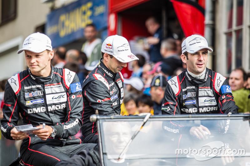 #18 Porsche Team, Porsche 919 Hybrid: Marc Lieb, Neel Jani und Romain Dumas