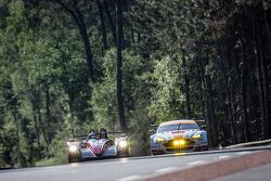 #43 Team SARD-Morand Morgan LM P2 EVO: Pierre Ragues, Oliver Webb, Zoel Amberg, #98 Aston Martin Rac