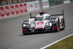 #9 Audi Sport Team Joest Audi R18 e-tron quattro: Рене Раст, Филипе Альбукерк, Марко Бонаноми
