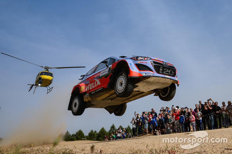 3. Thierry Neuville y Nicolas Gilsoul, Hyundai i20 WRC, Hyundai Motorsport