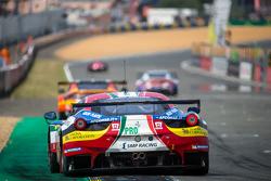 #51 AF Corse Ferrari 458 GTE : Gianmaria Bruni, Toni Vilander, Giancarlo Fisichella