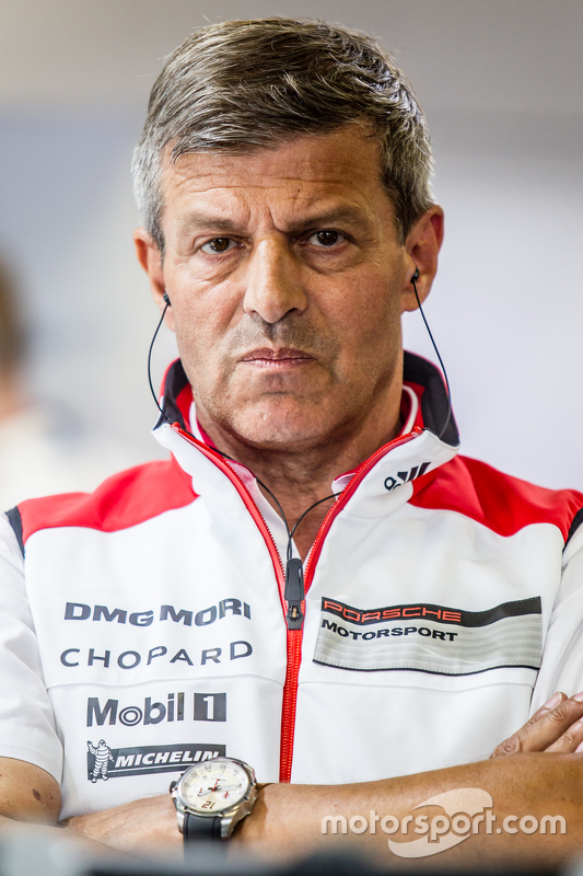 Porsche Team: Fritz Enzinger, Head of Department, LMP1
