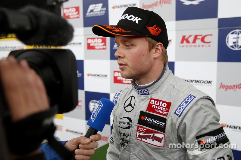 2. Felix Rosenqvist, Prema Powerteam, Dallara F312 Mercedes-Benz