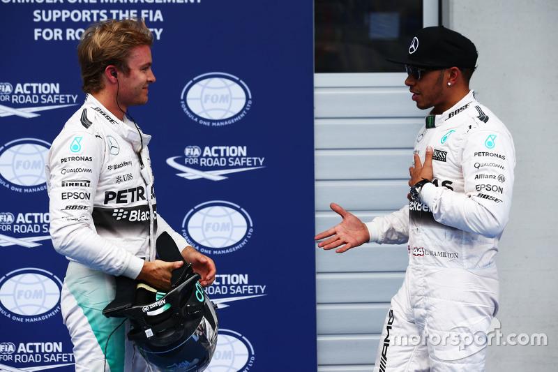 El duelo entre los de Mercedes continuó en Austria 2015