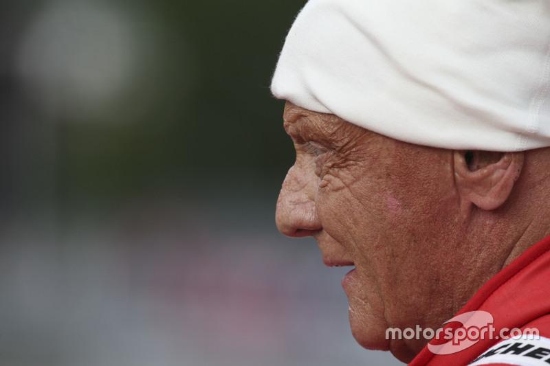 Niki Lauda, Mercedes Non-Executive Chairman di Legends Parade