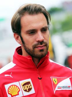 Жан-Эрик Вернь, тестовый пилот Ferrari