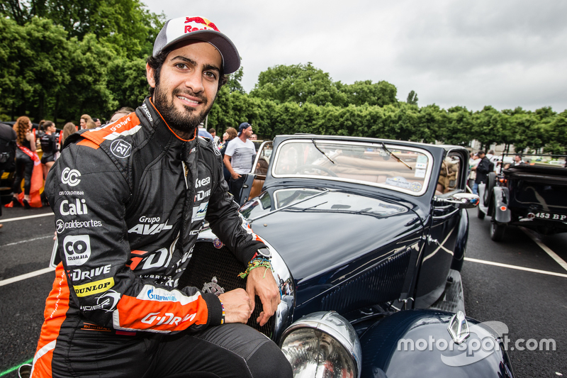 #28 G-Drive Racing, Ligier JS P2: Gustavo Yacaman