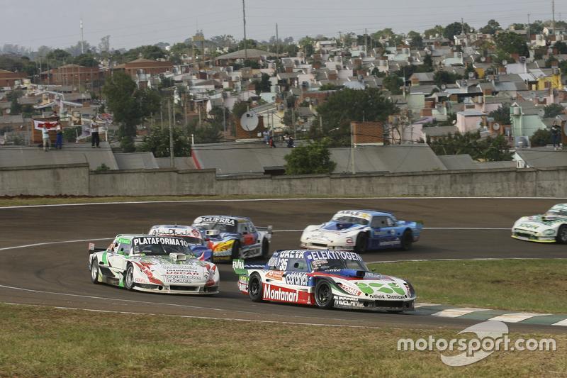 Mathias Nolesi, Nolesi Competicion, Ford; Santiago Mangoni, Laboritto Jrs, Torino; Matias Rodriguez,