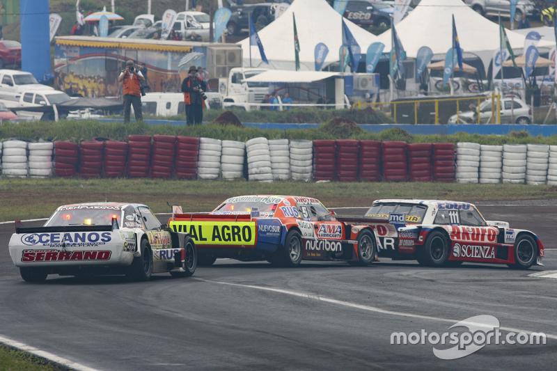 Juan Manuel Silva, Catalan Magni Motorsport, Ford; Jonatan Castellano, Castellano Power Team, Dodge, und Martin Serrano, Coiro Dole Racing, Dodge