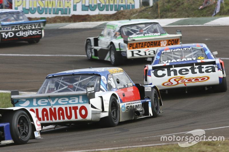 Santiago Mangoni, Laboritto Jrs, Torino; Matias Rodriguez, UR Racing, Dodge, und Luis Jose di Palma, Indecar Racing, Torino