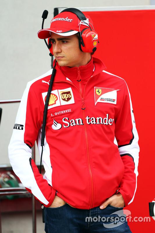 Esteban Gutierrez, Ferrari piloto de teste e reserva