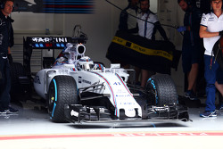 Susie Wolff, Williams FW37 pilota collaudatore
