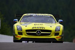 #70 GT Russian Team, Mercedes SLS AMG GT3: Alexei Karachev, Marco Asmer, Alexey Karachev