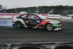 Сергей Сак, BMW во время квалификации