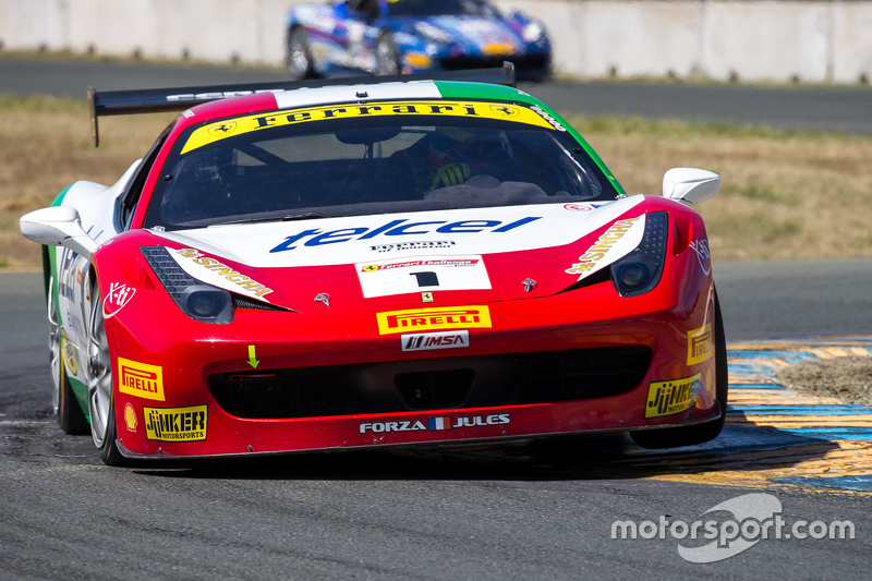 #1 Ferrari of Houston, Ferrari 458: Ricardo Perez