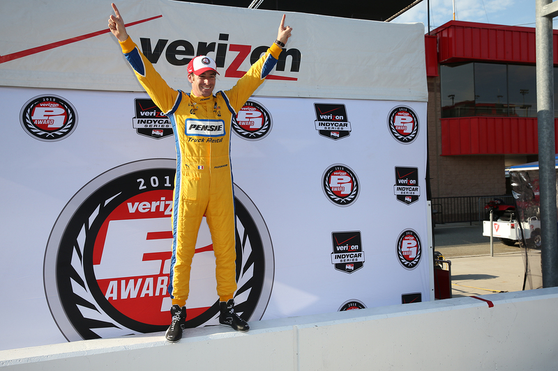 Pole-Sitter: Simon Pagenaud, Team Penske, Chevrolet