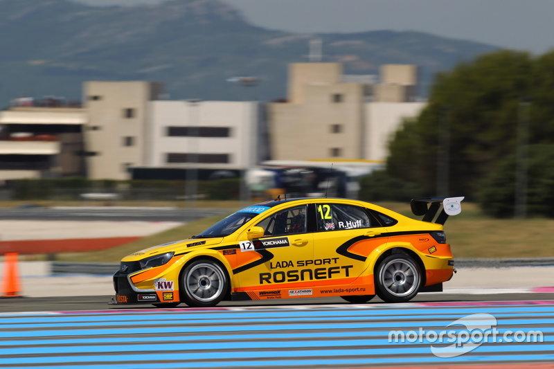 Robert Huff, Lada Vesta WTCC, Lada Sport Rosneft
