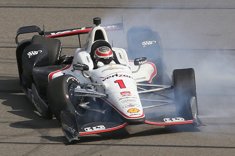 Will Power, Team Penske Chevrolet kecelakaan