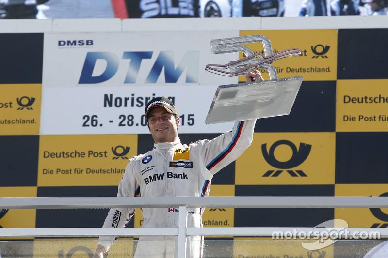 Podium, 3rd Bruno Spengler, BMW Team MTEK BMW M4 DTM