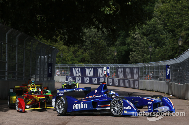 Salvador Duran, Amlin Aguri, dan Lucas di Grassi, Audi Sport Team ABT