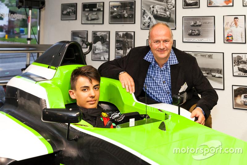 Моріц Мюллер-Крепон, Jenzer Motorsport та Андреас Йенцер