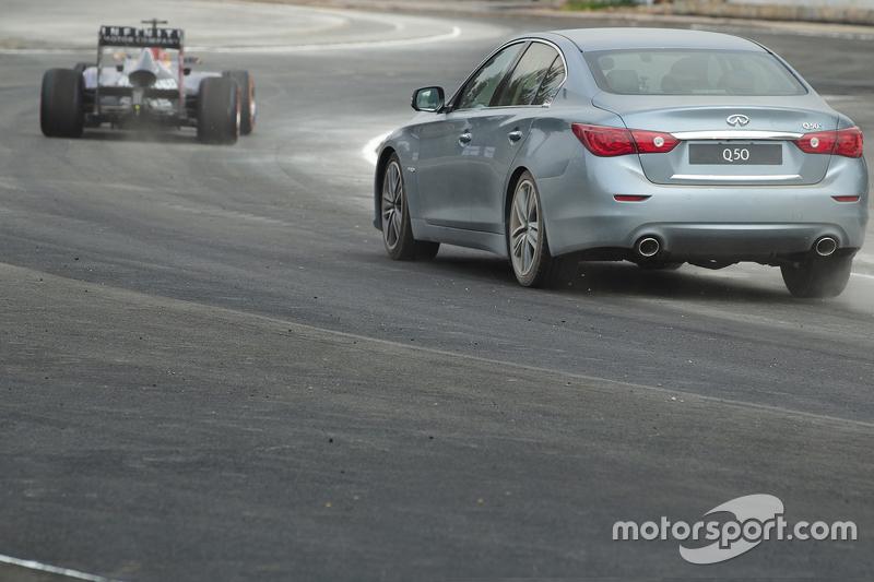 Daniel Ricciardo, Red Bull Racing menguji sirkuit baru GP Meksiko