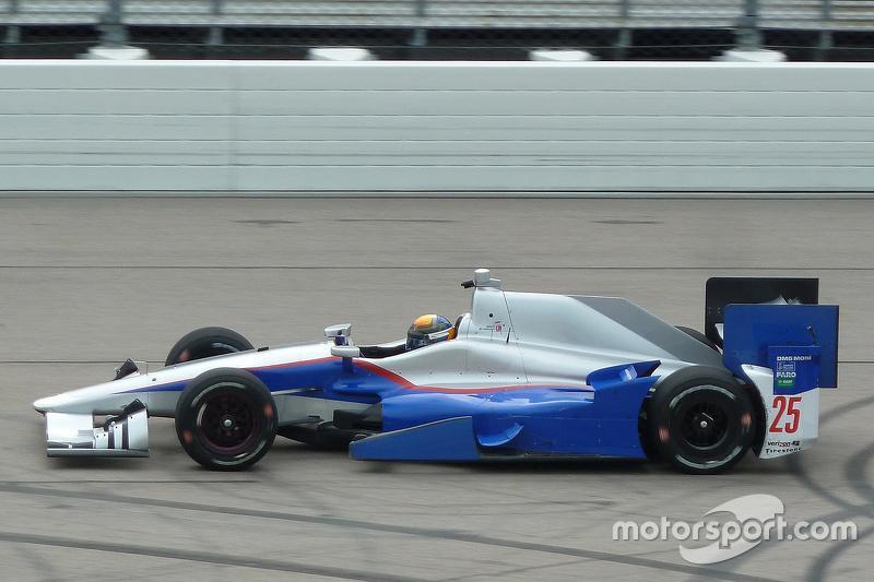 Matthew Brabham, Andretti Autosport IndyCar testi