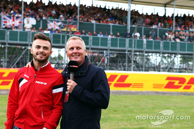 Will Stevens, Manor F1 Team, mit Johnny Herbert, Sky-Experte