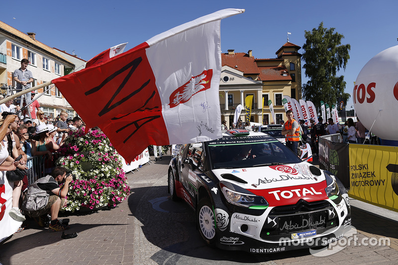 Mads Ostberg, dan Jonas Andersson, Citroën DS3 WRC, Citroën World Rally Team