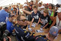 Andreas Mikkelsen dan Sébastien Ogier, Volkswagen Polo WRC, Volkswagen Motorsport