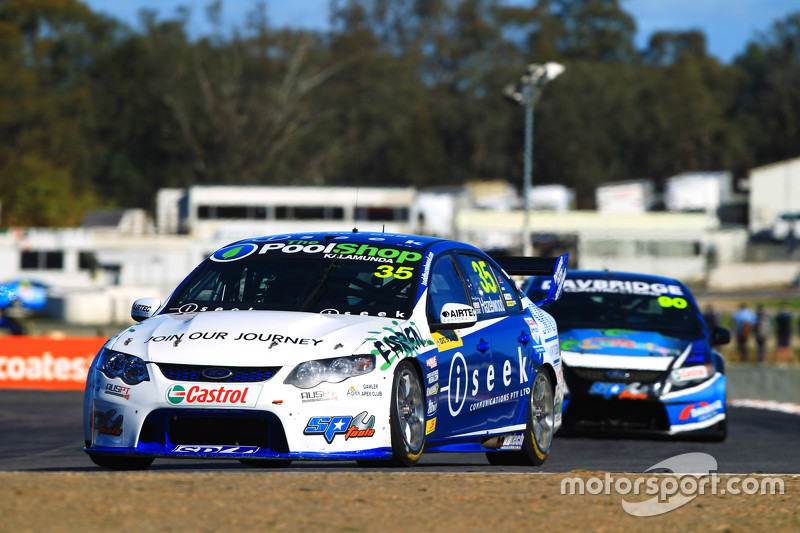 Dunlop Series driver Todd Hazelwood at Winton
